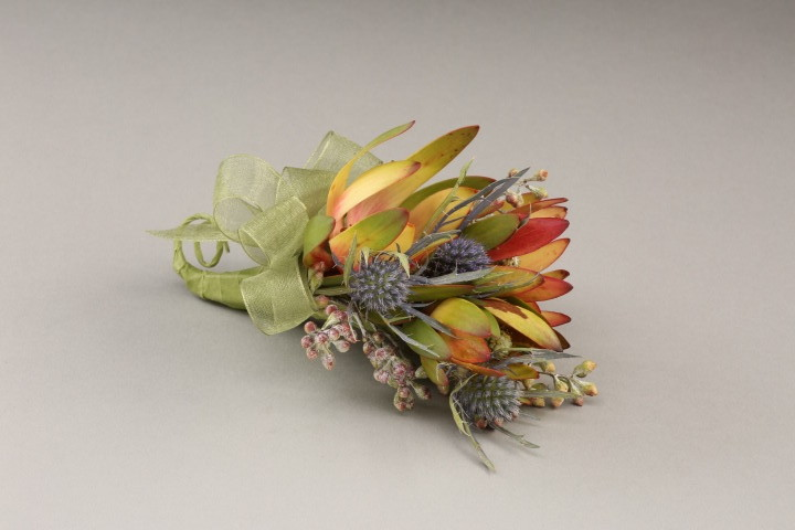 PICTURE OF EXOTIC MIXED TROPICALS CORSAGE