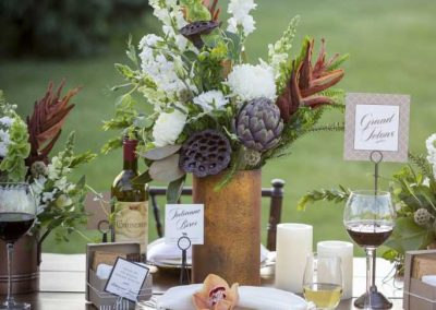 You can't beat an outdoor wine country venue