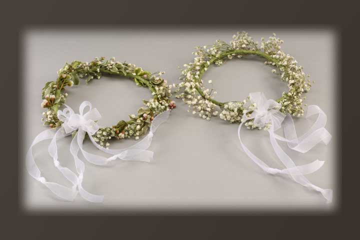 PICTURE OF HAIR WREATH