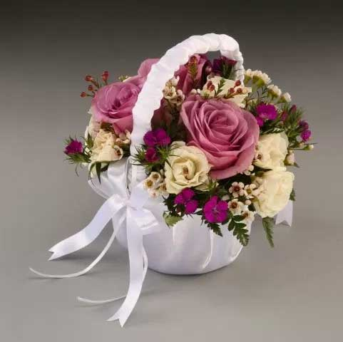 Picture of Flower Girl Bouquet