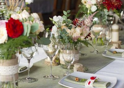Table Settings always add class and make the party memorable